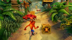 Crash bandicot game play